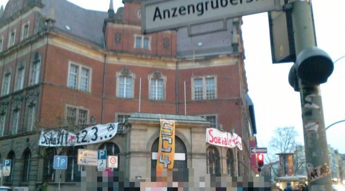 """Pressemitteilung: Erneute Besetzung der Initiative """"Social Center 4 All"""" in Berlin"""